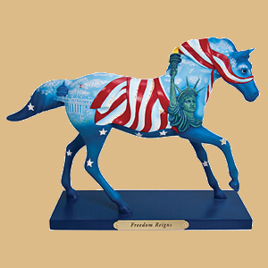 Freedom Reigns Figurine